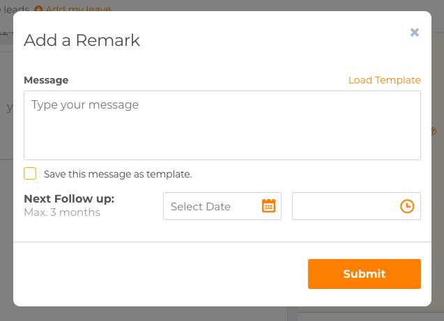Add Remark